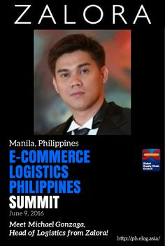 """June 9th brings in the first E-Commerce Logistics Philippines Summit! Come meet Michael Gonzaga, Head of Logistics for #Zalora. Learn from the one who helped create Zalora's delivery infrastructure in his talk, """"Building the Ecommerce Supply Chain."""" To learn more about the summit, and to register: ph.elog.asia/ #gscco #gsccoevents #supplychain #scmrocks #ecommerce #logistics #philippinesevents #retail"""