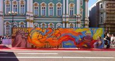 Mts Piter street games. Festival. Forwards crew. Graffiti. Street art.