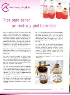 """Publicación hecha por la """"Revista Farmacia"""" Medicina - Ciencia - Belleza"""