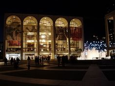 Metropolitan Opera in NYC - to go at least once