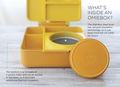 This is how OmieBox keeps your food hot AND cold.