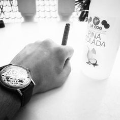 Vacation time :) #greece #travel #thessaloniki #relax #vacation #pinacolada #rolex