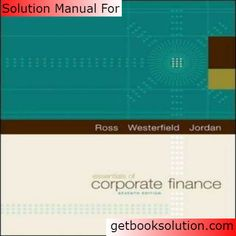 Solution manual for engineering fundamentals an introduction to solution manual for essentials of corporate finance edition by ross fandeluxe Images