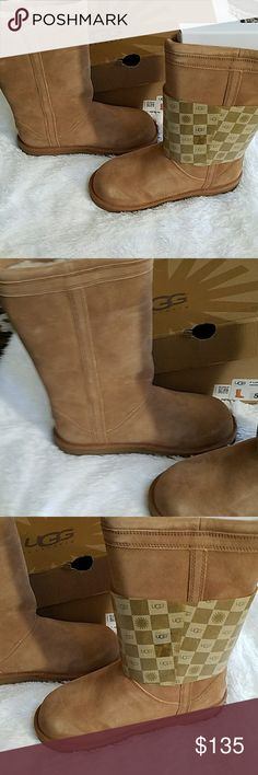 Ugg boots Brand new tan ugg boots orignal box never worn. UGG Shoes