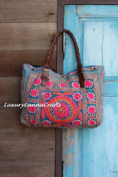 Luxury Tribal Ethnic Tote Bag L236-L2   SALE 99 DOLLARS