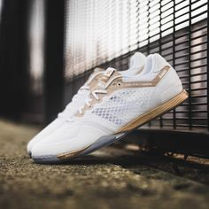White and gold, the special-edition New Balance Audazo boots for Fernando Wilhelm are fit for a World Cup winner.