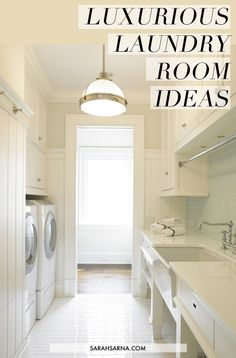 LAUNDRY room ideas  Hunt for the slideshow.