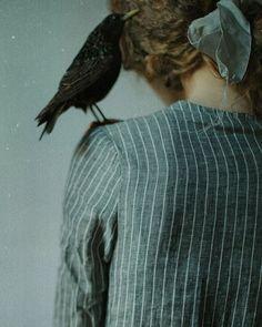 Grey stripe linen Agnès dress, photographed by @lauramakabresku #ovate #lauramakabresku #linen