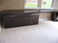 12 ft desk / dresser combo