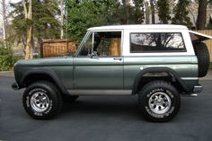 1968 Ford Bronco Maintenance/restoration of old/vintage vehicles: the material for new cogs/casters/gears/pads could be cast polyamide which I (Cast polyamide) can produce. My contact: tatjana.alic@windowslive.com