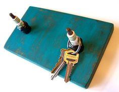 spark plug key rack.....would be better at a slight angle