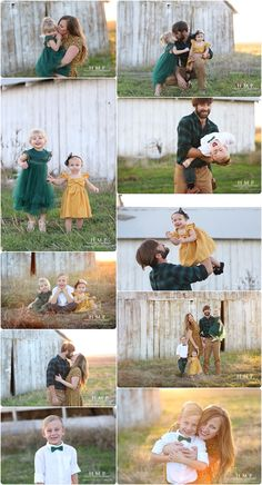 What to wear for fall family photos | Mustard yellow and forest green | Heather Marshall Photography | California Photographer | Rustic fall family photos | Family Photo ideas | Family Pose ideas.