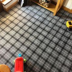 We used the signature carpets range in frost grey plaid for this hallway. Makes a huge change from the original tiles and we are glad to see the wee ones are making the most of it! Why not let us make your house into a home. Best Carpet, Diy Carpet, Modern Carpet, Plastic Carpet Runner, Where To Buy Carpet, Hotel Carpet, Carpet Trends, Carpet Ideas, Hallway Carpet Runners