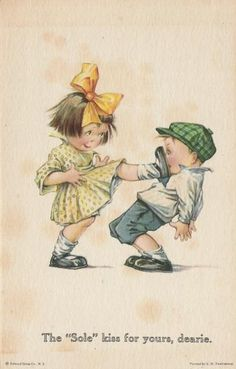 twelvetrees postcards | 12 Twelvetrees Valentine Post Card Humorous & Cute!