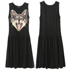Adorable Screaming Kitty Dress | Crazy Cat Lady Clothing