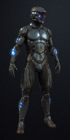 Torchbearer Undersuit And Helmet Futuristic Armour, Futuristic Art, Futuristic Technology, Robot Concept Art, Armor Concept, Cyberpunk Character, Cyberpunk Art, Armadura Sci Fi, Nono Le Petit Robot