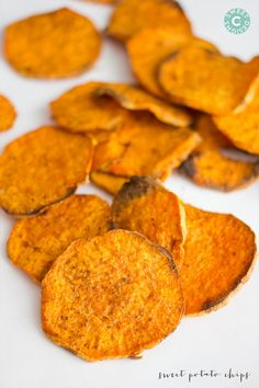 Easy Baked Sweet Potato Chips are a deicious paleo, low carb, whole 30 diet food snack that you will love!