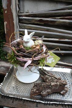 Ein Hase hat´s gut - Frühlingsdekoration von Frijda im Garten - Aus einer Idee wurde Leidenschaft auf DaWanda.com