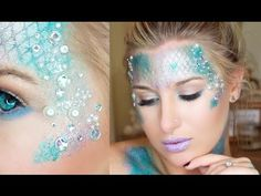 Halloween Makeup Tutorial: Sultry Siren - YouTube love her and love this ....