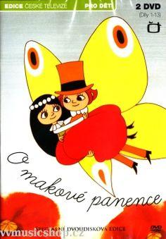 Večerníček O makové panence na DVD z Edice České televize.