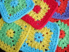 Free Crochet Pattern--Cool 2B Square Found on Craftsy
