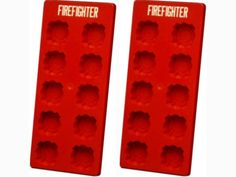 Fireman firefighter fire department birthday retirement wedding promotion ice cubes chocolate mold party maltese cross