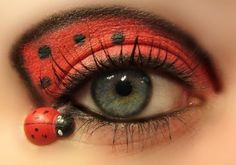 Painted Pretty♥the ladybug look
