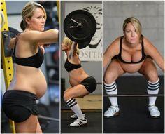 Mulher grávida de 8 meses fazendo musculação causa polêmica | S1 Notícias
