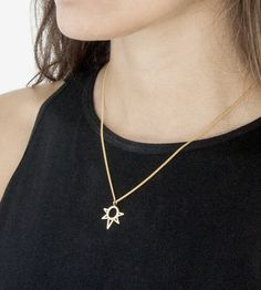 Mini Sun Necklace by Avrocomy on Scoutmob