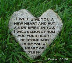 ♥♥♥♥♥♥Ezekiel 36:26♥♥♥♥♥♥<3