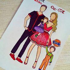 Coca-Cola Family 👪❤ Coca-Cola, Coca-cola ZERO, Fanta orange or Fanta Grape?