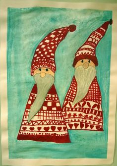 Billedresultat for christmas art ideas for teachers Christmas Art Projects, Christmas Arts And Crafts, Christmas Journal, Winter Art Projects, Nordic Christmas, Noel Christmas, Winter Christmas, Christmas Crafts, Art Classroom