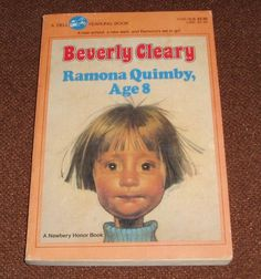 Ramona Quimby Age 8 by Beverly Cleary 1985