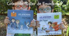 Colección de libros infantiles para trabajar las emociones con los niños de forma amena y divertida, a partir de historias trepidante, grandes aventuras y personajes entrañables. Educación emocional.