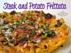 Use leftover steak and baked potatoes to make this delicious dish!