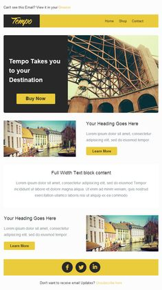 email newsletter templates 7 Spots to Score Free Email Marketing Templates Free Email Newsletter Templates, Newsletter Layout, Email Layout, Email Newsletters, Free Email Marketing, Online Marketing Strategies, Marketing Digital, Email Web, Mobile Marketing