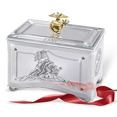Reflections Of A Hero Music Box