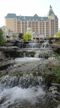 Chateau on the Lake Gardens in Branson, Missouri  Stayed here and it was beautiful...wonderful view of Branson