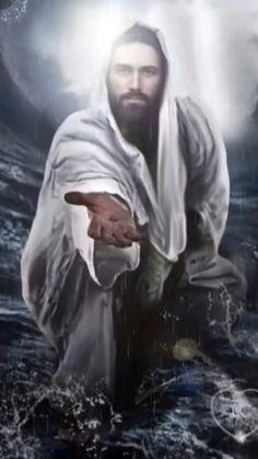Images Du Christ, Pictures Of Jesus Christ, Jesus Pictures With Quotes, Pictures Of Angels, Jesus Pics, God Pictures, Nature Pictures, Jesus Wallpaper, Jesus Drawings