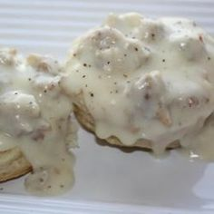 This is a simple and great recipe for sausage gravy that you can serve over hot biscuits. This is a great breakfast treat. Hearty and delectable.