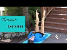 Turnout Exercises and stretches to improve your turnout for dance. I am currently trying to learn how to use my new video editing program :P Bear with me as ...