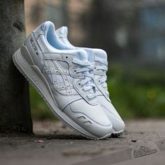 new concept 890a6 644c6 Asics Gel-Lyte III White  White Asics Gel Lyte Iii, Asics Shoes,
