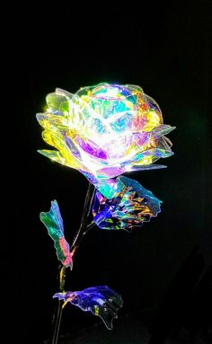 'The Galaxy Rose', Holographic Polyethylene. Blue Roses Wallpaper, Gothic Wallpaper, Flower Phone Wallpaper, Galaxy Painting, Galaxy Art, Fantasy Jewelry, Fantasy Art, Cinderella Wallpaper, Cristal Rose