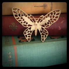 Sarah Coventry Jewelry - Vintage Sarah Coventry Butterfly Brooch