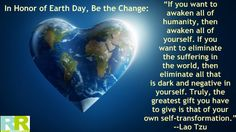 A beautiful earth day quote!