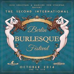 The Second Berlin Burlesque Festival at Wintergarten – image film by indieberlin