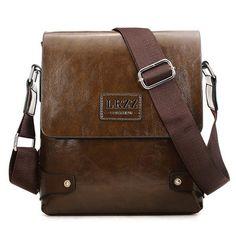 4ad4a0061ca3 Men Business PU Casual Male Messenger Shoulder Crossbody Bag Briefcase  Cheap Crossbody Bags