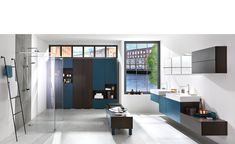 Discover the Home Design by SCHMIDT! Design your kitchen, wardrobe, cupboard or bathroom unit with the specialist in bespoke furniture. Custom Made Furniture, Bespoke Furniture, Bench With Drawers, Bathroom Furniture Design, Design Your Kitchen, Moody Blues, Bespoke Kitchens, Dark Wood, House Design