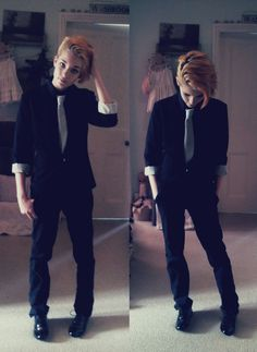 i like the hair and the outfit in this pic and I want both!