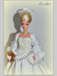 Girls Dresses, Flower Girl Dresses, Bride Dolls, Barbie Collector, Fashion Dolls, Wedding Gowns, Bridal, Disney, Vintage